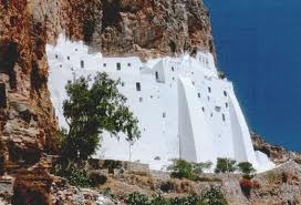 Holy's Mother Monastery in Amorgos Greece