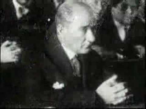 "Mustafa Kemal Atatürk worked hard to establish his vision, ""peace at home, peace in the world"", up until his death in 1938 - which is why we miss him ever more today. This video is my tribute to Atatürk. It's a collection of some of the rare video clips from his time, accompanied with music by Sema - a song called 'Hasret' (means 'Longing' in Tu..."