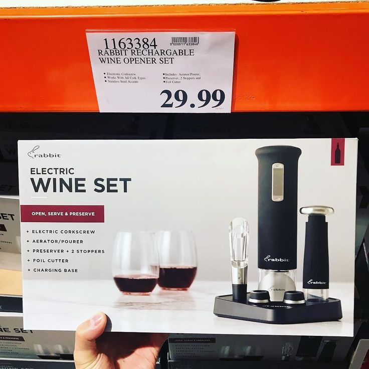 Best Last minute #christmas #present #giftideas for your #winelover! Only $29.99!  @rabbitwine rechargeable #wine opener set! Comes with #electric #screwset #aerator #pourer #preserver  2 stoppers #foilcutter and charging base! #rabbitwine #winestagram #winenight