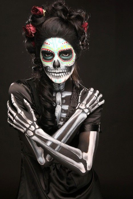 Haloween Day of the dead