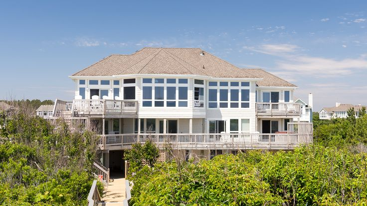 Sea Spray I - E068 is an Outer Banks Oceanfront vacation rental in Pine Island Corolla NC that features 7 bedrooms and 6 Full 1 Half bathrooms. This rental has a private pool, an elevator, and a pool table among many other amenities. Click here for more.