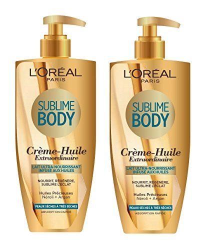 L'Oréal Paris Sublime Body Lait Infusé Ultra Nourrissant Huile 250 ml - Lot de 2 L'Oréal Paris http://www.amazon.fr/dp/B00QZP30CE/ref=cm_sw_r_pi_dp_XK-.vb0WP2FKJ