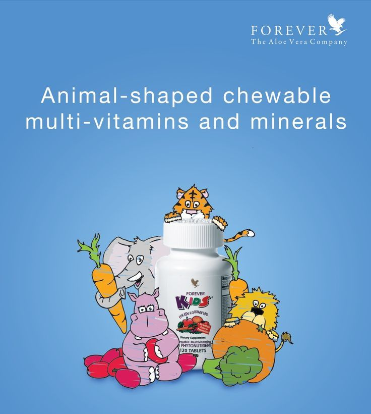 Give your kids the nutrients they need each day with Forever Kids™ Chewable Multivitamins with Phytonutrients.