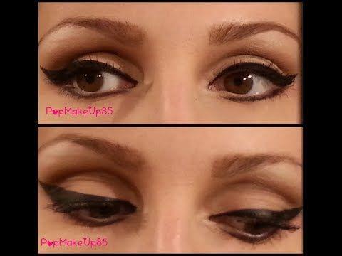 Come truccare gli occhi piccoli e cadenti o all'ingiù con un risultato naturale che farà sembrare più grandi i tuoi occhi.