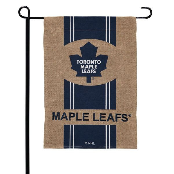 "NHL - Toronto Maple Leafs 18"" X 12"" Burlap Garden Flag"