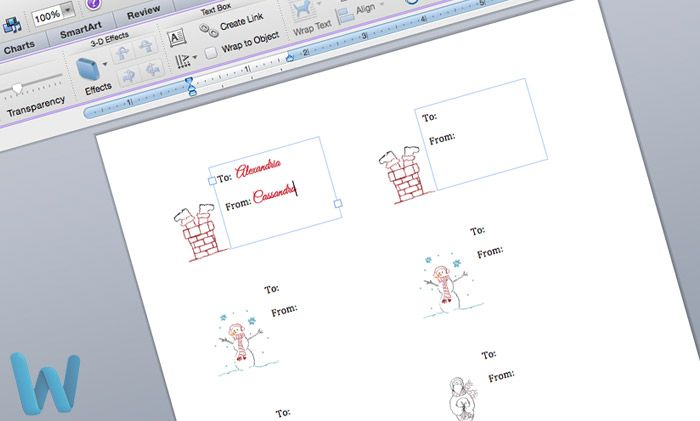 Free gift tag template Download and customize using Microsoft - microsoft word diagram templates