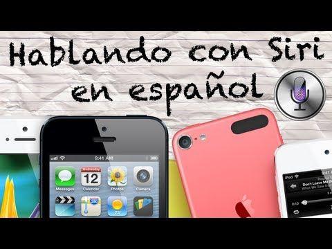 Hablando con Siri en Español (preguntas graciosas XD)