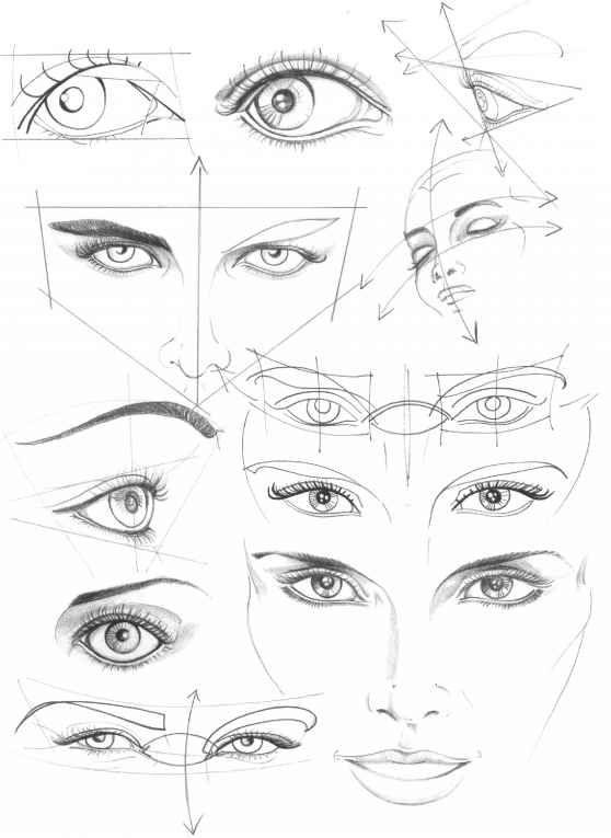 eyes olhos e posições