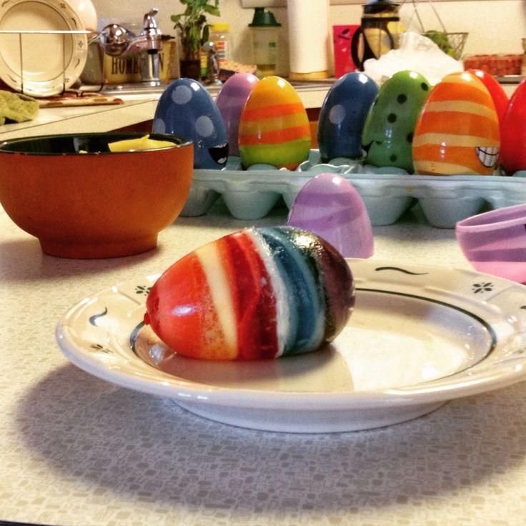 Jello Easter Eggs Jello easter eggs, Easter eggs, Food