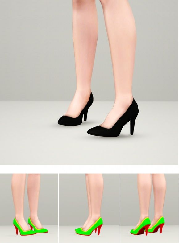 Dress and shoes at Rusty Nail - Sims 3 Finds