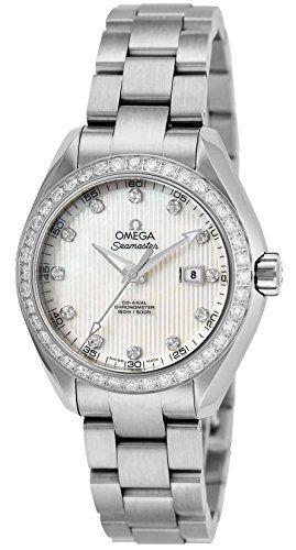 OMEGA Seamaster Aqua Terra watch white pearl dial Co-Axial automatic 231.15.34.2...