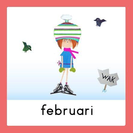 Jaarkalender Floddertje: februari
