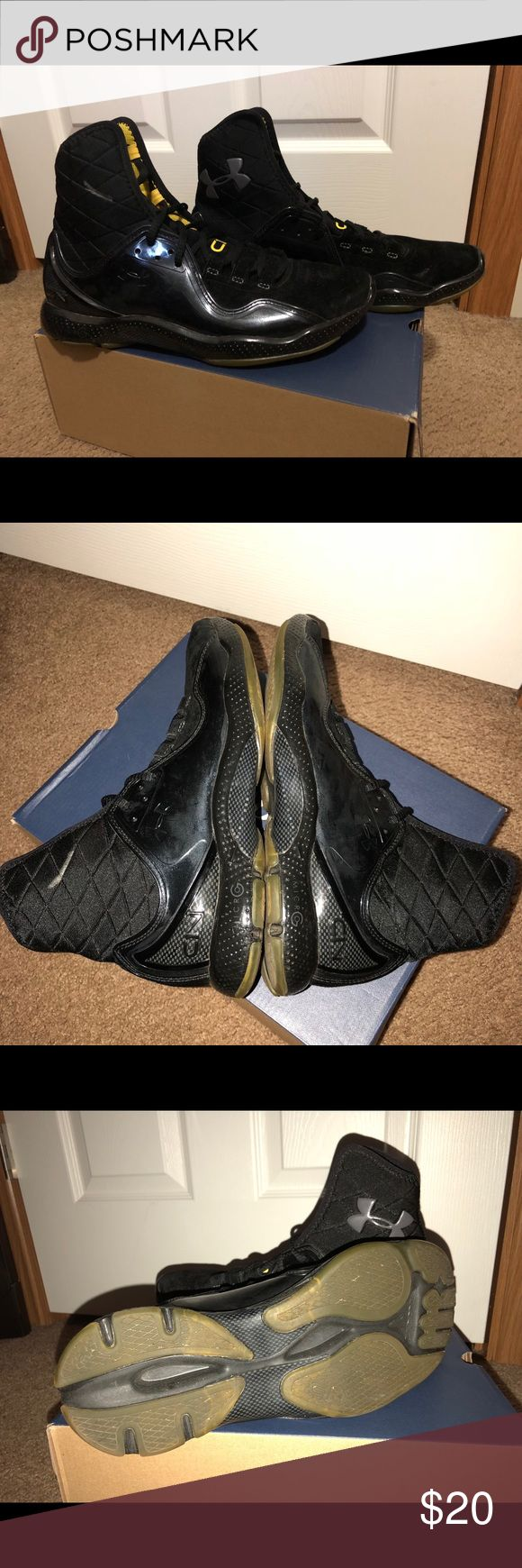 Under Armour Cam Newtons Good ankle support, barely worn. Under Armour Shoes Sneakers