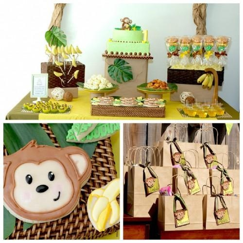 24 best cumplea os en la selva jungle birthday images on for Animal party decoration