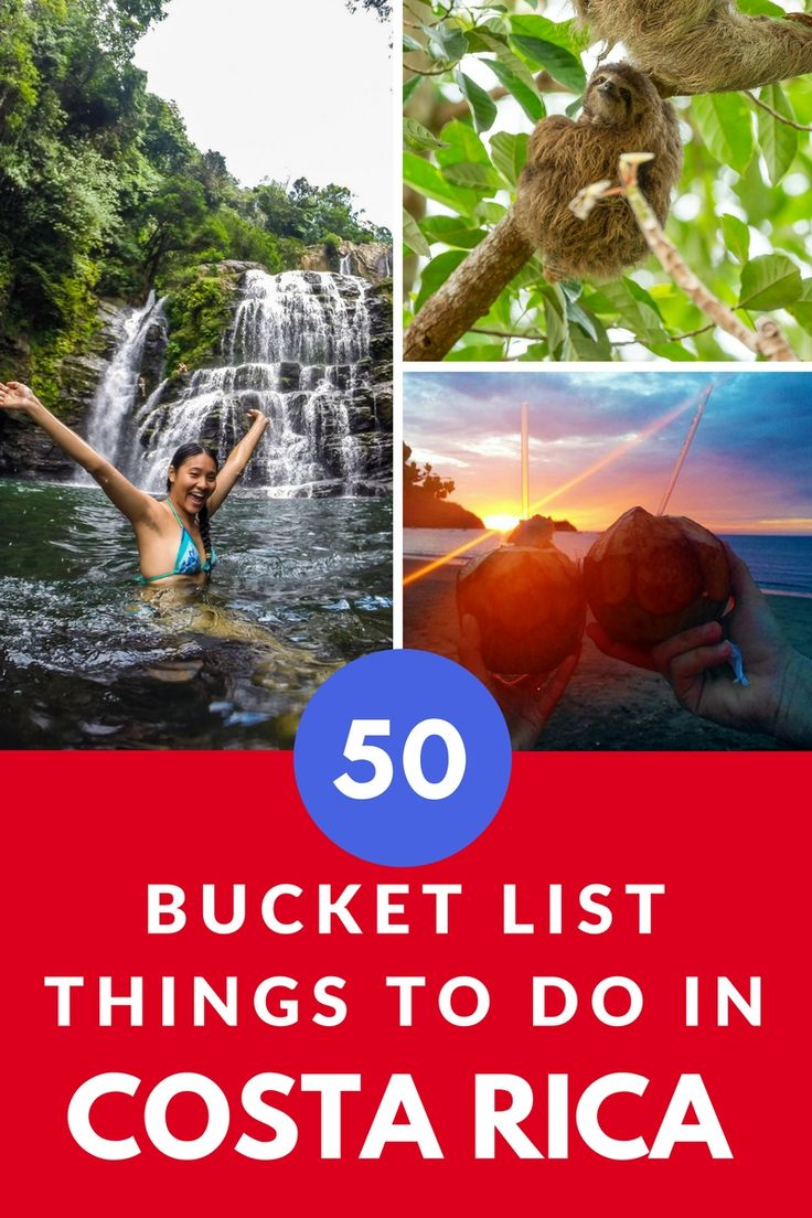 Bucket list things to do in Costa Rica: http://mytanfeet.com/activities/50-activities-things-to-do-in-costa-rica/