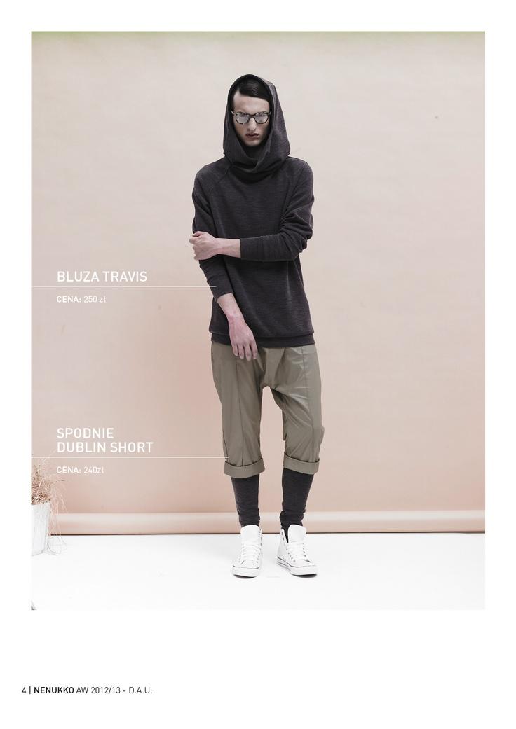 TRAVIS blouse DUBLIN SHORT trousers D.A.U. collection   http://nenukko.com/shop/