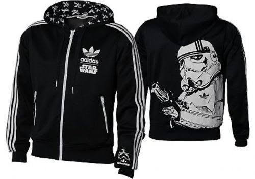 NEW �IDAS ORIGINALS STAR WARS STORMTROOPER HOODIE JACKET L