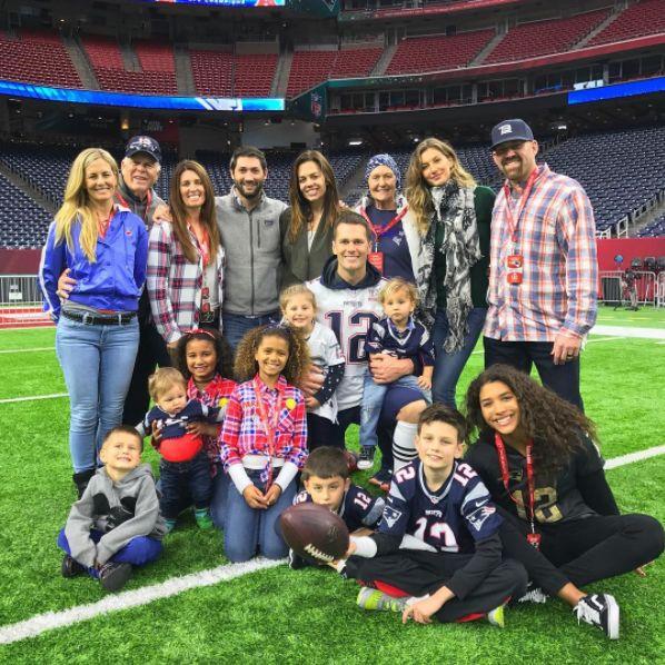 Los Brady, una familia de famosos y campeones - Yahoo Deportes