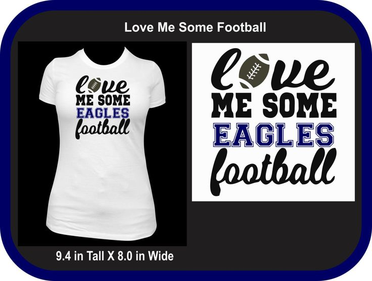 Custom Love Some Fan Football Shirt -You Choose the team and color