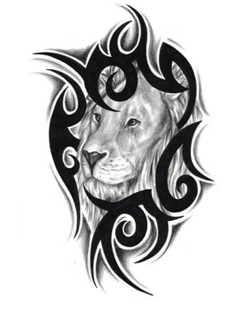Pin Tattootribal Lion Tattootattoo Designs Just For Tattoonov Page on ...