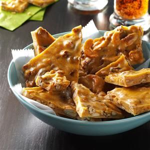 Spiced Rum-Nut Brittle Recipe from Taste of Home