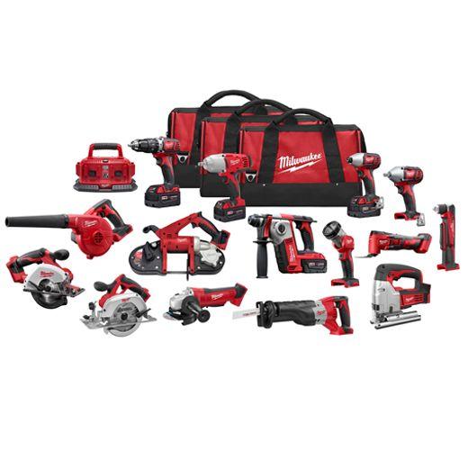 M18™ 15-Tool Combo Kit | Milwaukee Tool