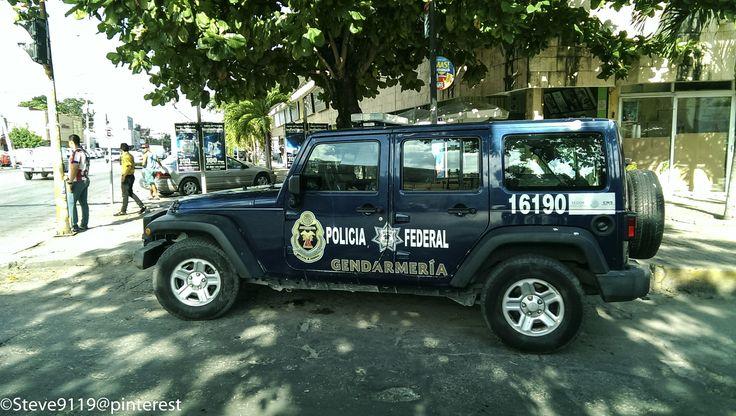 Policia Federal - Gendarmeria @ Valladolid, Mexico