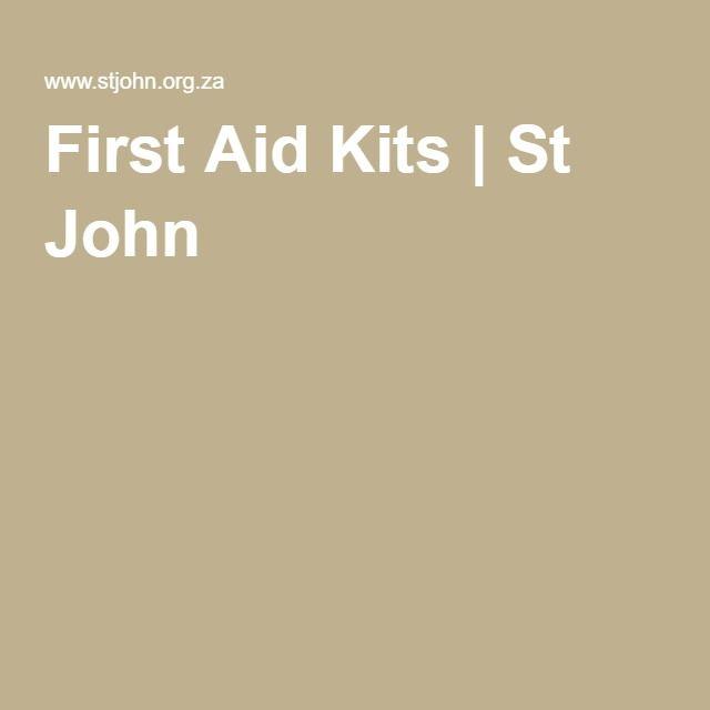 First Aid Kits | St John