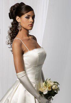African American Wedding Hairstyles Hairdos Half Up Half Down