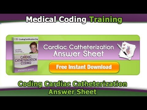 Coding Cardiac Catheterization  coding cardiac catheterization Many of you have asked about coding for Cardiac Catheterization and what type of procedure is it. Because of your inquiries, I...      More CPC Exam Tips and Updates at http://www.cpcmedicalcodingcertificationexamprep.org