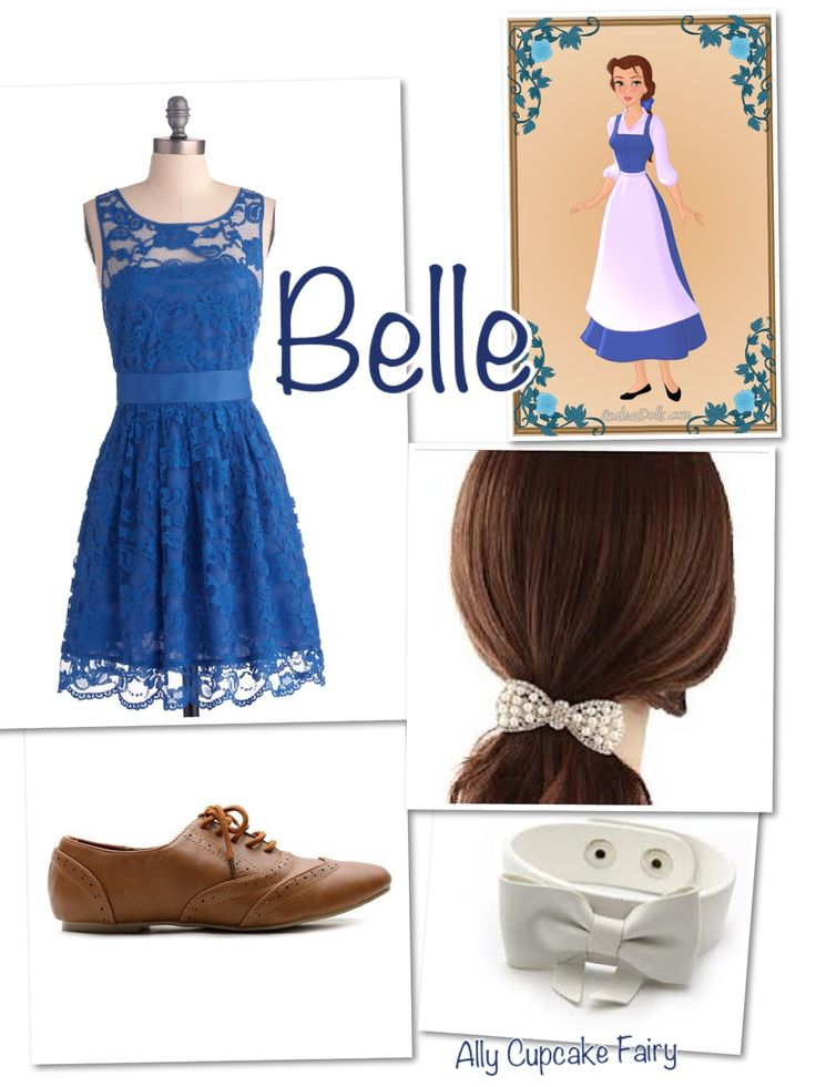 Belle Disney Inspired Outfit love this for Mickey's Not-So-Scary Halloween Party