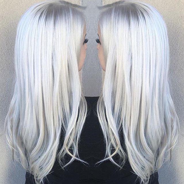 Instagram media mermaidians - Icy Blonde! ❄️❄️ Hair by: @marianacruzhair #mermaidians