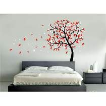 Vinilo Pared Arbol De Corazones Decoracion Wall Stickers