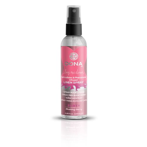 DONA LINEN SPRAY FLIRTY BLUSHING BERRY 3.75 OZ - http://store.paulinaboutique.com/DONA_LINEN_SPRAY_FLIRTY_BLUSHING_BERRY_3_75_OZ-details.aspx