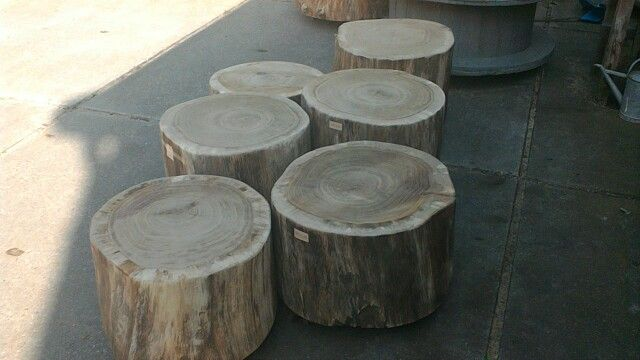 eiken boomstamtafel voorraad winkel