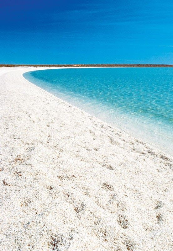 Shell Beach in Shark Bay, Western Australia. As the name indicates it's a beach entirely made of small white shells. #PANDORAloves beautiful Oz!