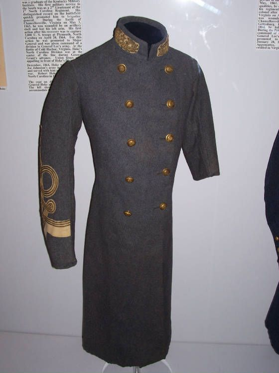Confederate General Robert F Hoke S 1st Uniform Frock