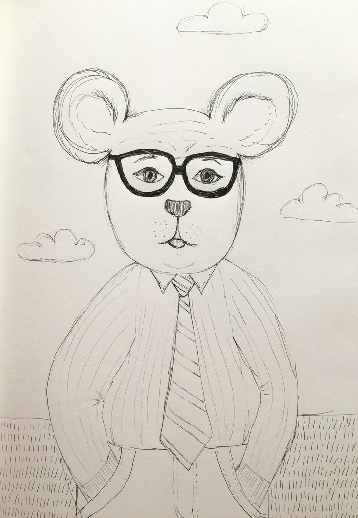 Just your average Bear  #bear #sketch #drawing