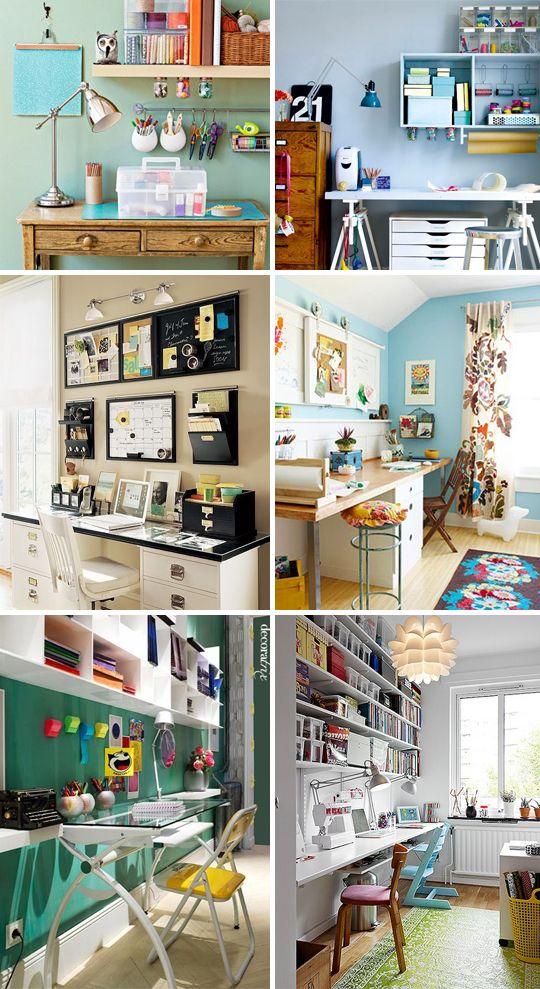 Ideias de decoração para o home office