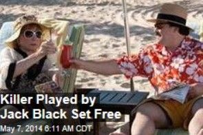 Latest News:  Killer Played by Jack Black Set Free.  Bernie Tiede, the Texas mortician-slash-murderer made famous when Jack Black portrayed him in Bernie, was released yesterday—to go live in the garage apartment of Richard Linklater, who co-wrote and directed the 2011 movie.  Get all the latest news on your favorite celebs at www.CelebrityDazzle.com!