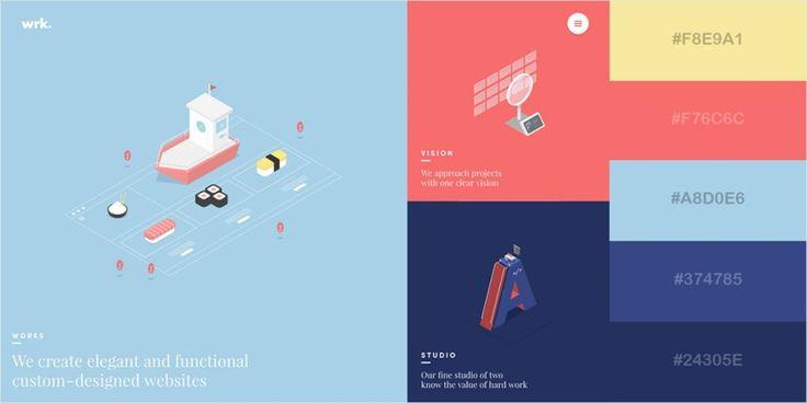44 Beautiful Colour Schemes From Award-Winning Websites - UltraLinx