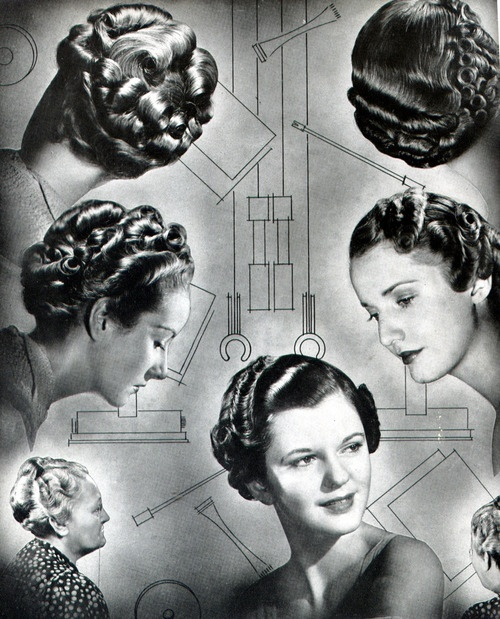 40s style hair discover and save creative ideas 1937 | f2f61b56d2ff9995daae49b77814fb37