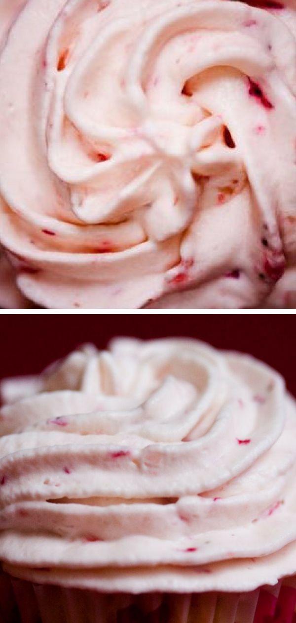 Strawberry Whipped Cream Recipe – Eine köstliche Schlagsahne aus frischem Stroh …   – Desserts