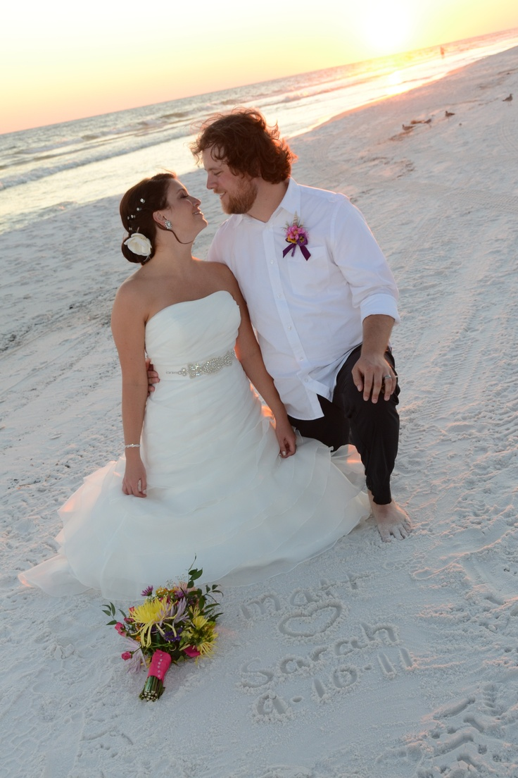 Sunset Beach Weddings Destin - Find this pin and more on destin beach weddings