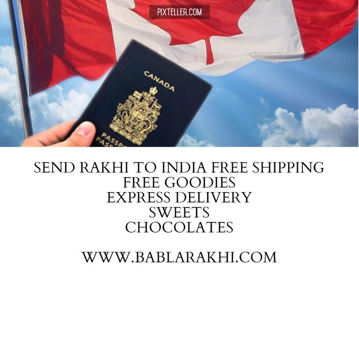 Send Rakhi to India from Canada Free Shipping. http://www.bablarakhi.com/blog/send-rakhi-to-india-from-canada-free-shipping