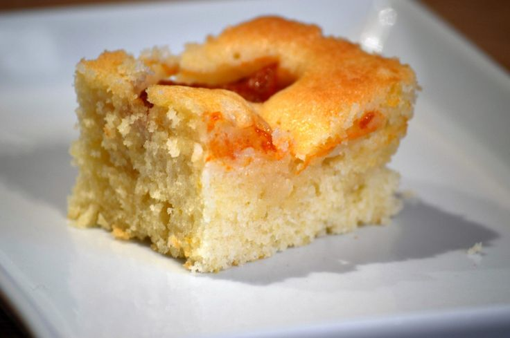 Sponge Cake with Apricot - Hungarian Cookbook