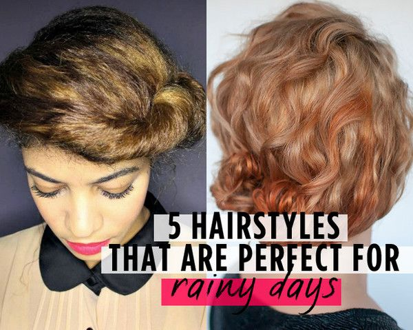 5 Hairstyles That Are Perfect for Rainy Days  http://www.womenshealthmag.com/beauty/rainy-day-hairstyles