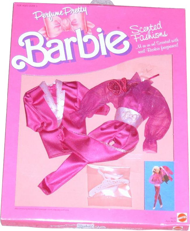 Perfume Pretty Barbie: Barbie 80s, I Want Barbie And