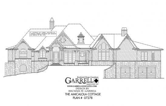 Amicalola Cottage House Plan 06221 Front Elevation Craftsman