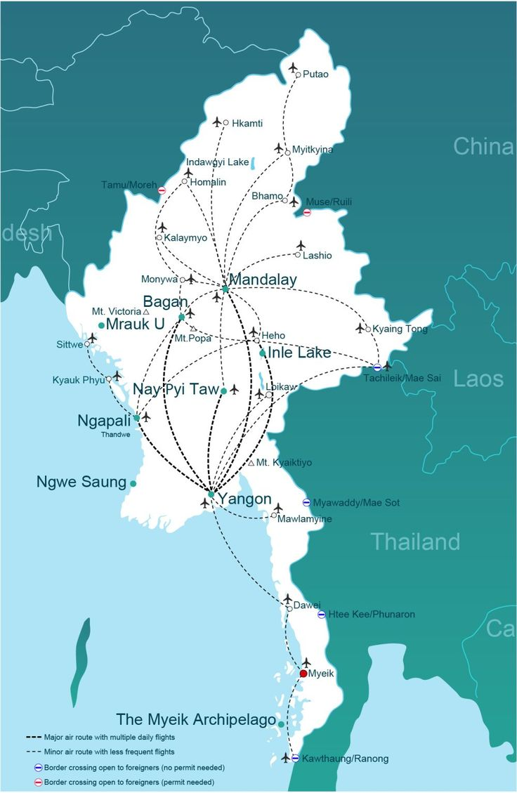Comprehensive and up-to-date information on how to get to Myeik, Myanmar (Burma), plus online transport booking.